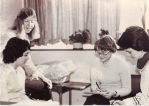 1970s support group with 4 women